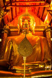 Gigantyczny złoty Buddha Obrazy Royalty Free