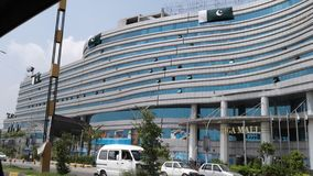 Gigawandelgalerij Rawalpindi Pakistan Stock Fotografie