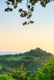 GiGechburg Castle Landscape Panorama Royalty Free Stock Photography