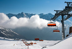 Giggijoch, Solden, Austria. Royalty Free Stock Photo