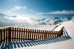 Giggijoch, Solden, Austria. Royalty Free Stock Images