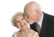 giggles φιλιά στοκ εικόνες με δικαίωμα ελεύθερης χρήσης