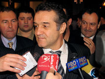 Gigi Becali Royalty Free Stock Photo