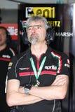 Gigi Dall'Igna Aprilia RSV4 Aprilia Racing Team stock photo