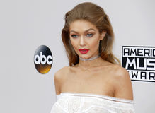 Gigi Hadid royalty free stock image