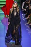 Gigi Hadid walks the runway during the Elie Saab show Stock Photos