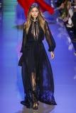 Gigi Hadid walks the runway during the Elie Saab show Royalty Free Stock Image