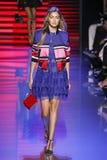 Gigi Hadid walks the runway during the Elie Saab show Stock Image