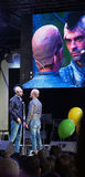 Gigi and Ross Neapolitan comedians parody gomorra 6 Stock Photography