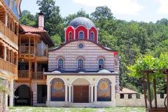 Giginski monastery (Tsarnogorski monastery). Stock Images