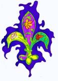 Giglio araldico royalty illustrazione gratis