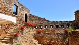 Giglio Castle , Tuscany Stock Image