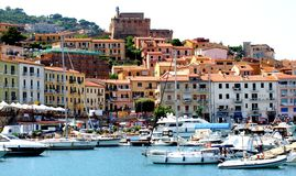 Giglio Island, Tuscany Royalty Free Stock Photos