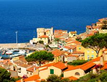 Giglio Island, Tuscany Royalty Free Stock Images