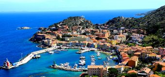 Giglio Island, Tuscany Stock Photo