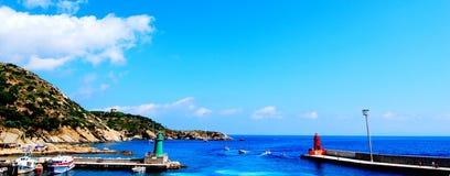 Giglio Island, Tuscany Royalty Free Stock Photos
