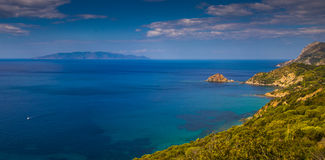Giglio isle Royalty Free Stock Images