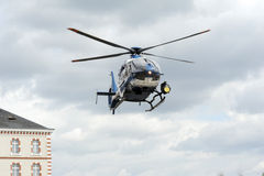 GIGN helicopter Royalty Free Stock Photography