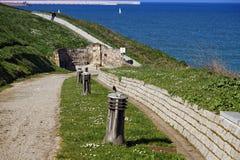 Gijón promenade Stock Images