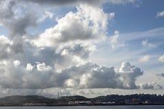 Gijón scenary Stock Photos