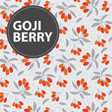 Goji berry background Stock Photos