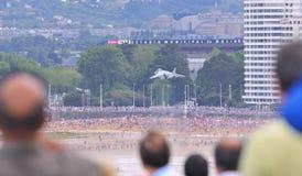 Gijon air festival. Stock Images
