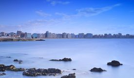 Gijon, Asturias, spain. Stock Images