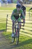 GIJON HISZPANIA, STYCZEŃ, - 9: Cyclocross mistrzostwa Hiszpania w Janu Zdjęcie Royalty Free