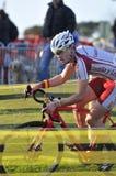 GIJON HISZPANIA, STYCZEŃ, - 9: Cyclocross mistrzostwa Hiszpania w Janu Fotografia Royalty Free