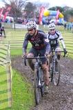 GIJON, SPAIN - JANUARY 11: Cyclocross Championships Spain in Jan Stock Photo