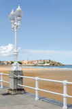 Gijon, St. Lawrence Beach Stockbild