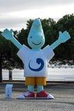 Gil, талисман Expo'98, Лиссабон, Португалия стоковые изображения