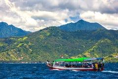 Gil Trawangan wyspa, Lombok Indonezja, Marzec, - 2015 obraz stock