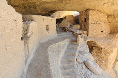 Gila Cliff Dwelling ruins Royalty Free Stock Photos