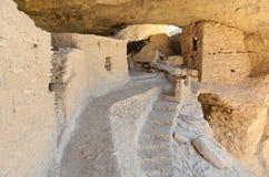 Gila Cliff Dwelling Ruins Royalty Free Stock Photos