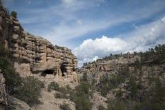 Gila Cliff Dwellings Royalty-vrije Stock Foto