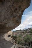 Gila Cliff Dwellings Royalty Free Stock Photo