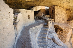 Gila Cliff Dwellings National Monument Royalty-vrije Stock Foto's