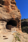 Gila Cliff Dwellings National Monument Royalty Free Stock Photo