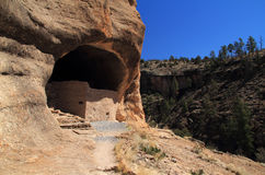Gila Cliff Dwellings National Monument Stock Image