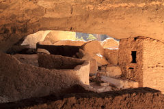 Gila Cliff Dwellings National Monument Stock Photo