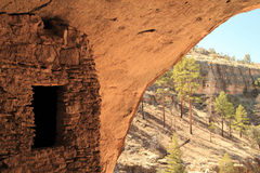 Gila Cliff Dwellings National Monument Royalty Free Stock Photography