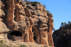 Gila Cliff Dwellings National Monument Royalty Free Stock Image