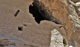 Gila Cliff Dwellings National Monument. The Gila Cliff Dwellings were built over 700 years ago by the ancestors of Puebloan Indians in southern New Mexico Royalty Free Stock Images