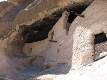 Gila Cliff Dwellings Royalty Free Stock Photography
