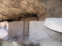 Gila Cliff Dwellings Royalty Free Stock Photos