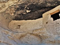 Gila Cliff Dwellings National Monument. The Gila Cliff Dwellings were built over 700 years ago by the ancestors of Puebloan Indians in southern New Mexico Royalty Free Stock Image