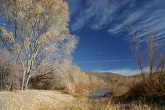 Gila-Fluss lizenzfreie stockfotografie