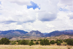A Gila Wilderness View from Aldo Leopold Vista Royalty Free Stock Photo