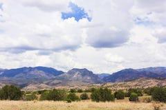 A Gila Wilderness View from Aldo Leopold Vista. A View of the Gila Wilderness from the Aldo Leopold Vista Picnic Area, New Mexico Royalty Free Stock Photo